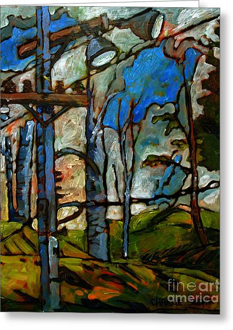 April Showers Greeting Cards - Restless Wednesday Greeting Card by Charlie Spear
