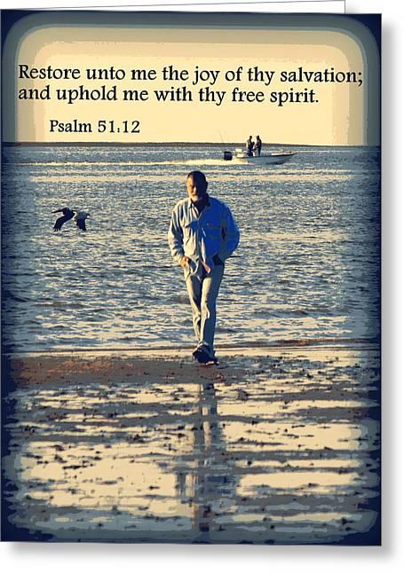 Cedar Key Greeting Cards - Restore Me Greeting Card by Sheri McLeroy