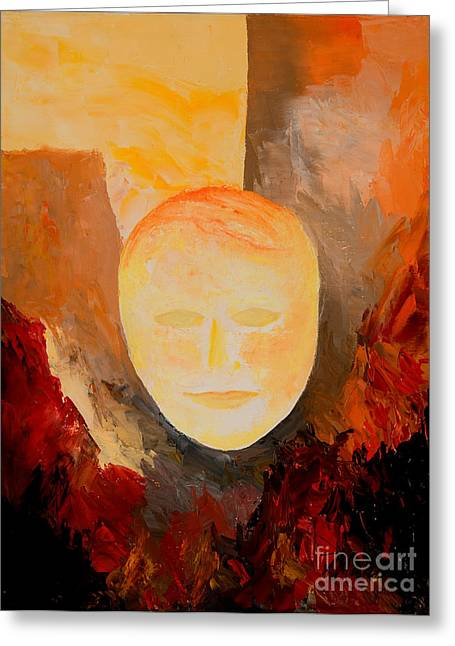 Justice Paintings Greeting Cards - Resurrection Greeting Card by Larry Martin