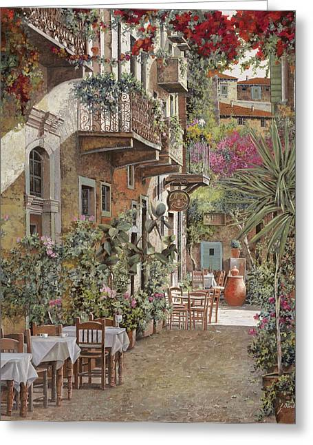 Rethimnon-crete-greece Greeting Card by Guido Borelli