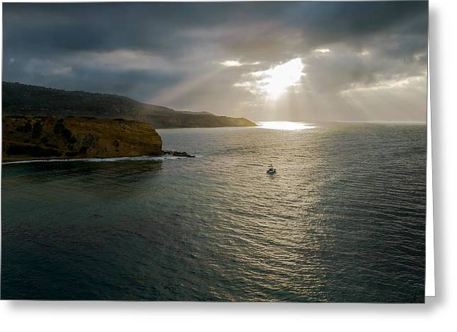 Palos Verdes Cove Greeting Cards - Retire into yourself Photography By Denise Dube Greeting Card by Denise Dube