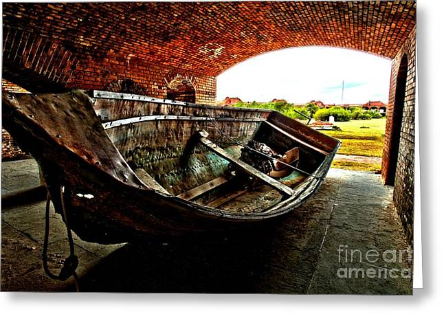 Dry Tortugas National Park Greeting Cards - Retired Greeting Card by Adam Jewell