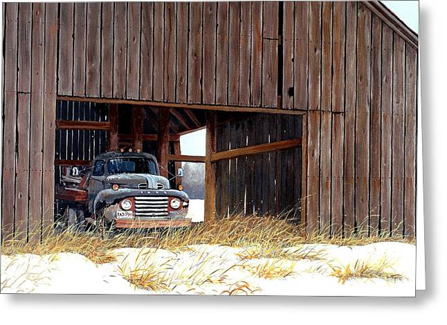 Pick-ups Greeting Cards - Retired Greeting Card by Michael Swanson