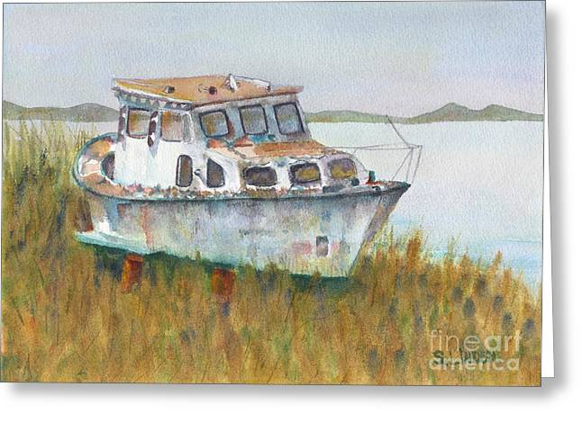 Retired Greeting Card by Sandy Linden