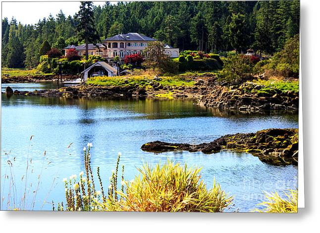 B.c. Greeting Cards - Retirement Home Greeting Card by Nancy Harrison