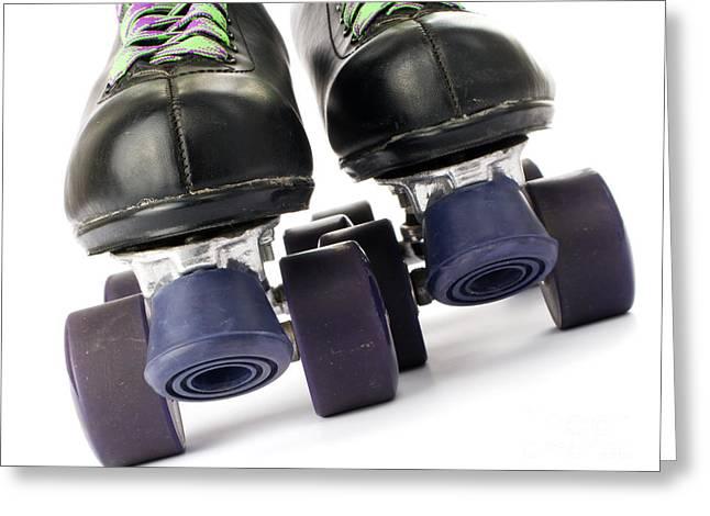 Retro roller skates Greeting Card by Jose Elias - Sofia Pereira
