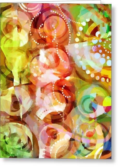 Home Decor Greeting Cards - Retropop Decor Greeting Card by Home Decor