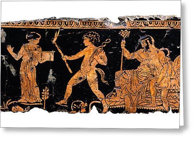 Return Of Hephaistos Greeting Card by Steve Bogdanoff