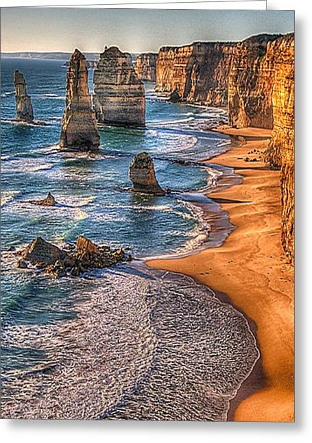 Apostle Philip Greeting Cards - Return of The 12 The Twelve Apostles Greeting Card by Philip Johnson