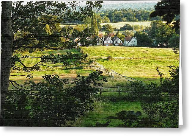 United Kingdom Greeting Cards Greeting Cards - Returning Home .. As A Canvas Greeting Card by Connie Handscomb