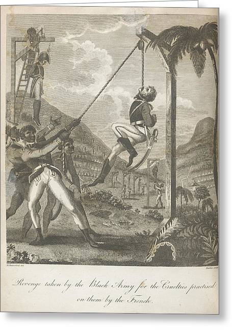 Revenge Greeting Card by British Library