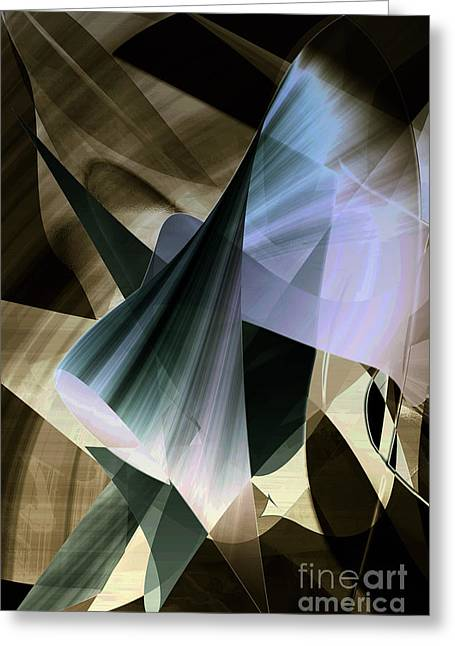 New Technology Greeting Cards - Reverie Greeting Card by Gerlinde Keating - Keating Associates Inc