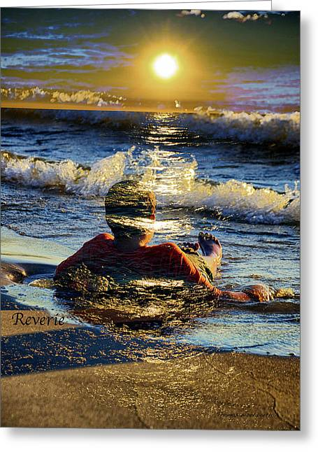 Reverie Greeting Card by Thomas Woolworth