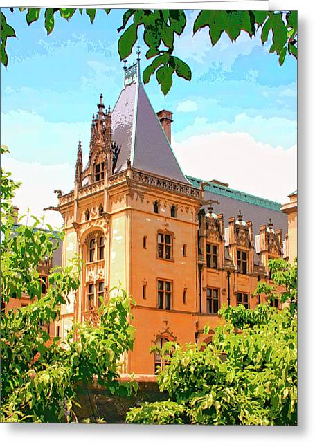 Nc Estate Greeting Cards - REVIVAL BILTMORE Asheville NC Greeting Card by William Dey