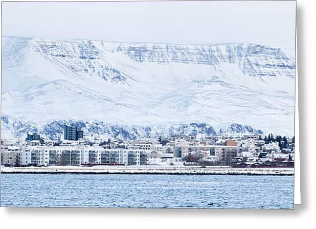 Reykjavik City - Iceland Greeting Card by Arnar B Gudjonsson