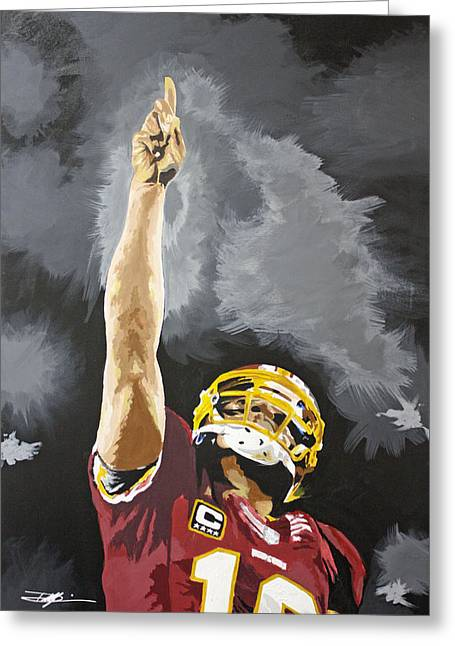 Best Sellers -  - Don Medina Greeting Cards - Rg Iii Greeting Card by Don Medina