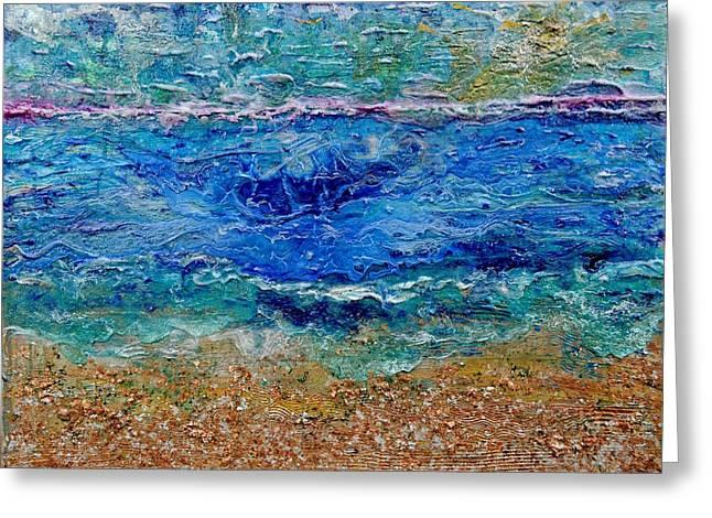 Rhapsody On The Sea  Greeting Card by Regina Valluzzi