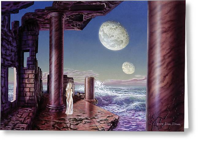 Alien Worlds Greeting Cards - Rhiannon Greeting Card by Don Dixon
