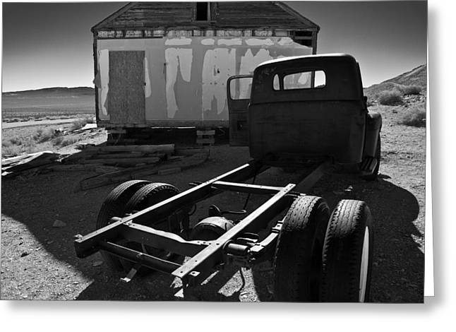Photographic Art For Sale Greeting Cards - Rhyolite  Greeting Card by Richard Smukler