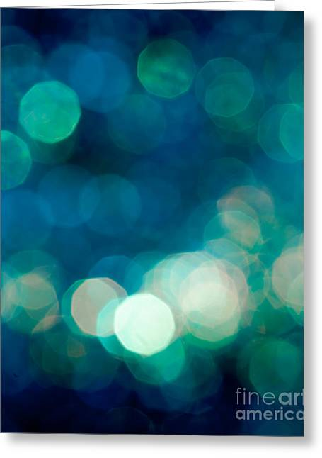 Defocused Greeting Cards - Rhythm n Blues Greeting Card by Jan Bickerton
