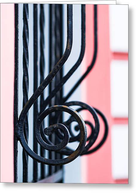 Things Light Greeting Cards - Rhythm Of Architecture - Vertical Format Greeting Card by Alexander Senin