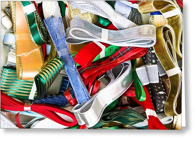 Selection Greeting Cards - Ribbons Greeting Card by Tom Gowanlock