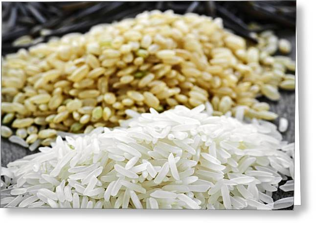 Rice Greeting Card by Elena Elisseeva