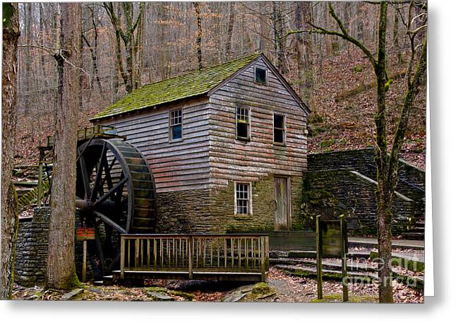 Watershed Greeting Cards - Rice Gristmill Hdr II Greeting Card by Douglas Stucky