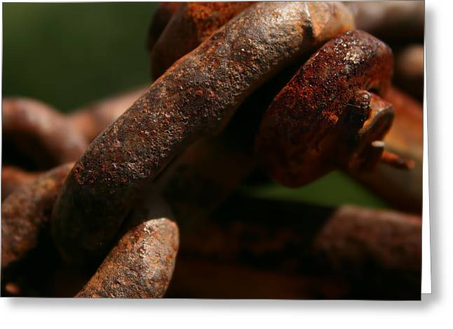 Gnarly Greeting Cards - Rich and Rusty Greeting Card by Kathy Clark