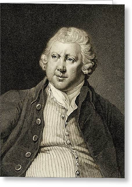 Richard Arkwright Greeting Card by Chemical Heritage Foundation