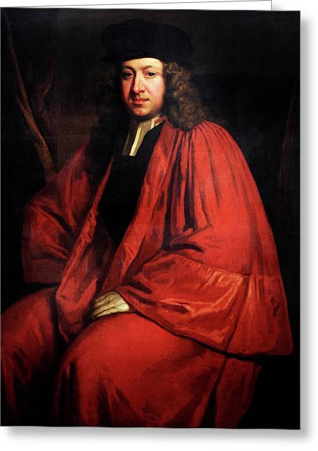Richard Hale Greeting Card by Bodleian Museum/oxford University Images