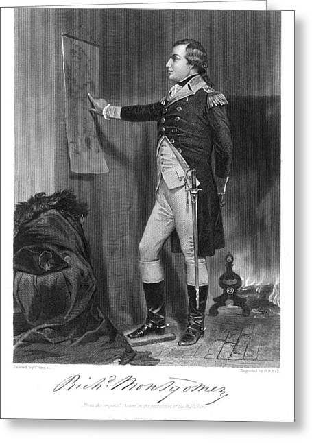 Richard Montgomery Greeting Card by Granger