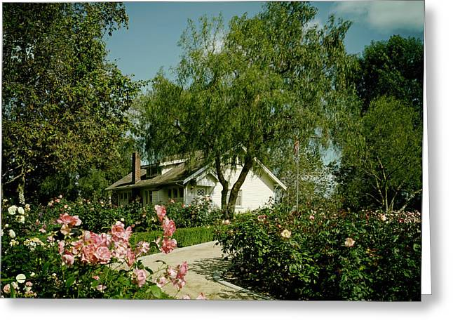 Yorba Greeting Cards - Richard Nixon Birthplace  Greeting Card by Mountain Dreams