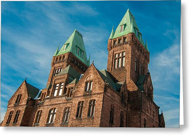 Guy Whiteley Greeting Cards - Richardson Complex 3D21972 Greeting Card by Guy Whiteley