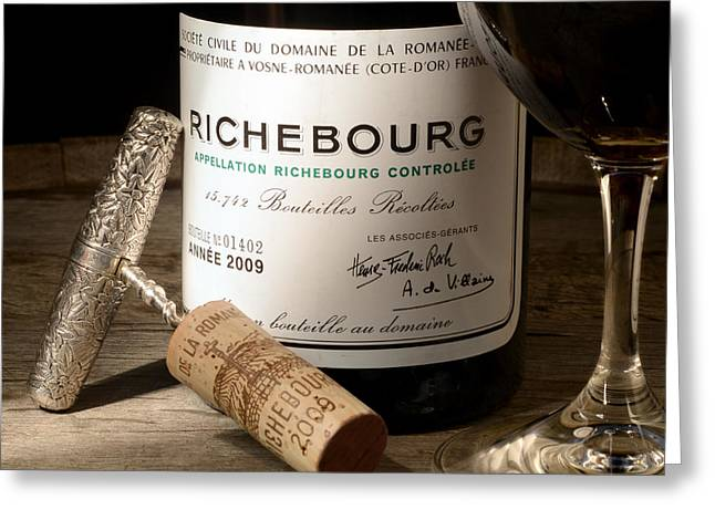 Wine Country. Greeting Cards - Richebourg Greeting Card by Jon Neidert