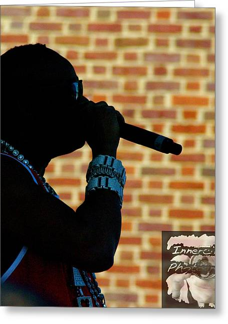 Slick Rick Greeting Cards - Rick The Ruler Greeting Card by Don Prioleau