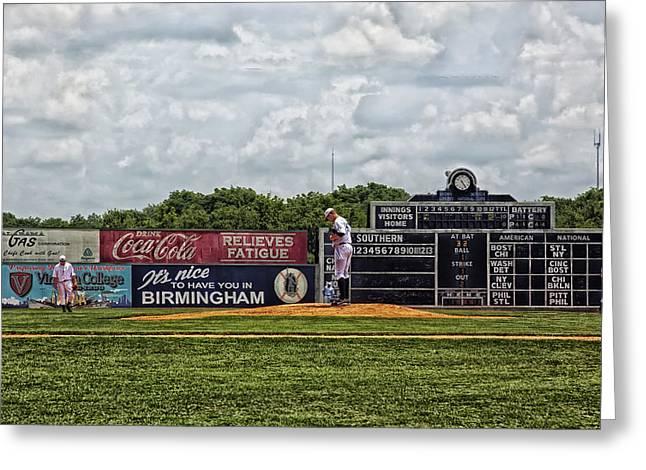 Baseball Game Greeting Cards - Rickwood Classic Baseball - Birmingham Alabama Greeting Card by Mountain Dreams