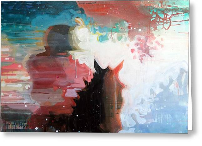 Horse And Riders Greeting Cards - Rider Greeting Card by Susie Hamilton