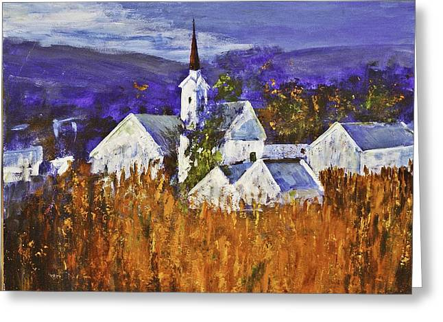 Cape Town Mixed Media Greeting Cards - Riebeeck Kasteel Greeting Card by Anton Roux