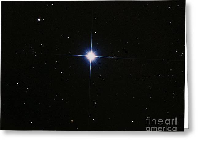 Orionis Greeting Cards - Rigel Greeting Card by John Chumack
