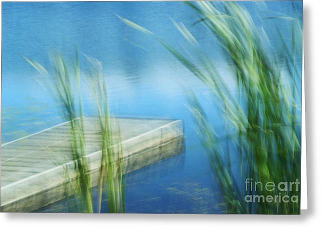 Impressionist Photography Greeting Cards - Right here Right Now Greeting Card by Aimelle