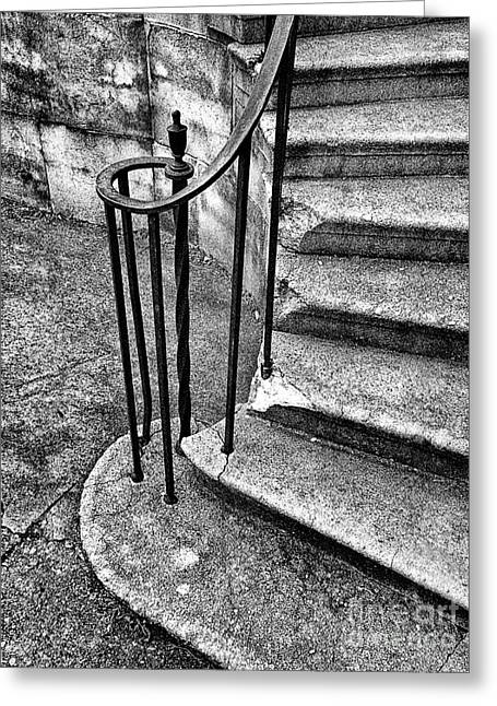 Stone Steps Greeting Cards - Right Side Steps Greeting Card by Paul W Faust -  Impressions of Light