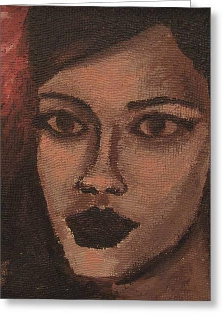 Rihanna Paintings Greeting Cards - Rihanna Greeting Card by Francois Falet