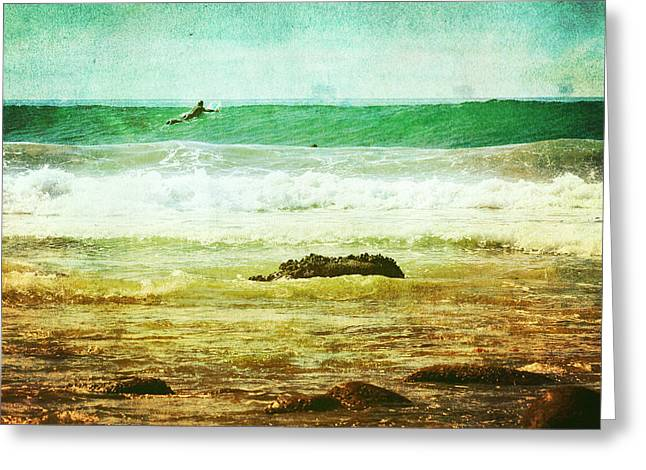 Rincon Beach California Photos Greeting Cards - Rincon 1 Greeting Card by Beth Taylor