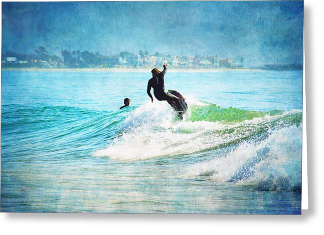 Rincon Beach Greeting Cards - Rincon 2 Greeting Card by Beth Taylor