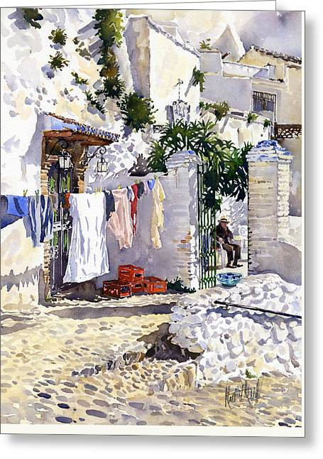 Rincon De Sacromonte Greeting Card by Margaret Merry