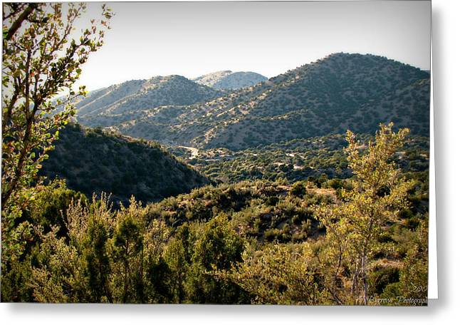 Rincon Greeting Cards - Rincon Spur from the Sandias Greeting Card by Aaron Burrows