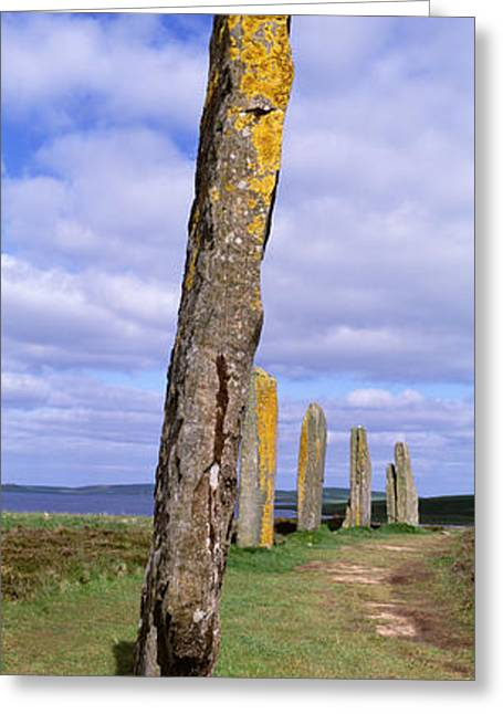 Civilization Greeting Cards - Ring Of Brodgar, Orkney Islands Greeting Card by Panoramic Images