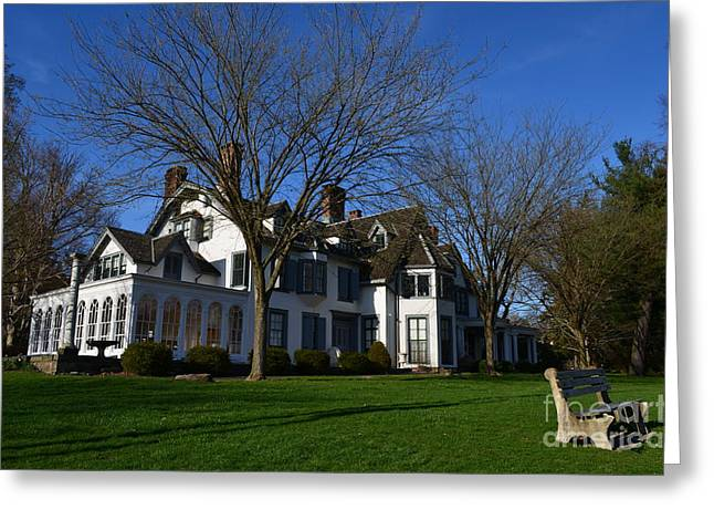 Keough Greeting Cards - Ringwood Manor  Greeting Card by Michael Keough