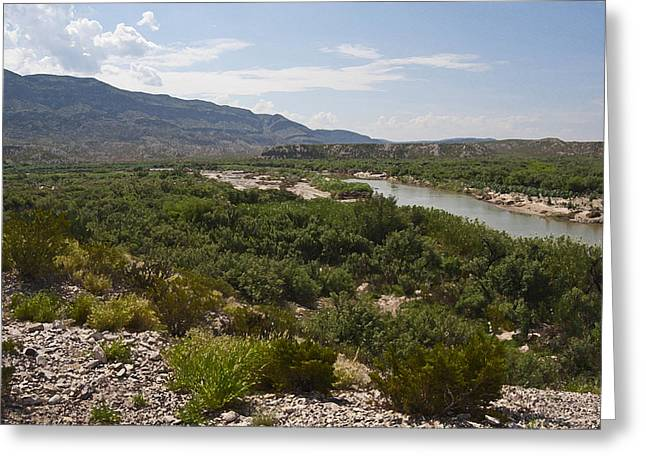 Rio Grande Greeting Cards - Rio Grand River Greeting Card by Gary Grayson
